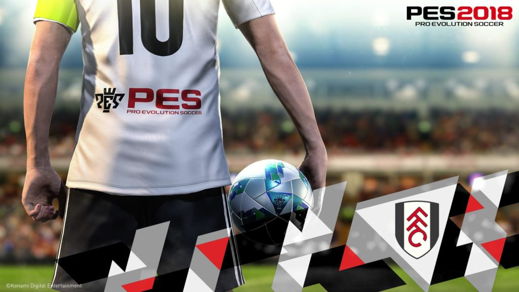 PES 2018 To Feature Fulham FC in Exclusive Partnership