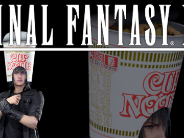 Get The Noodle Hat Free DLC For Final Fantasy XV On PSN