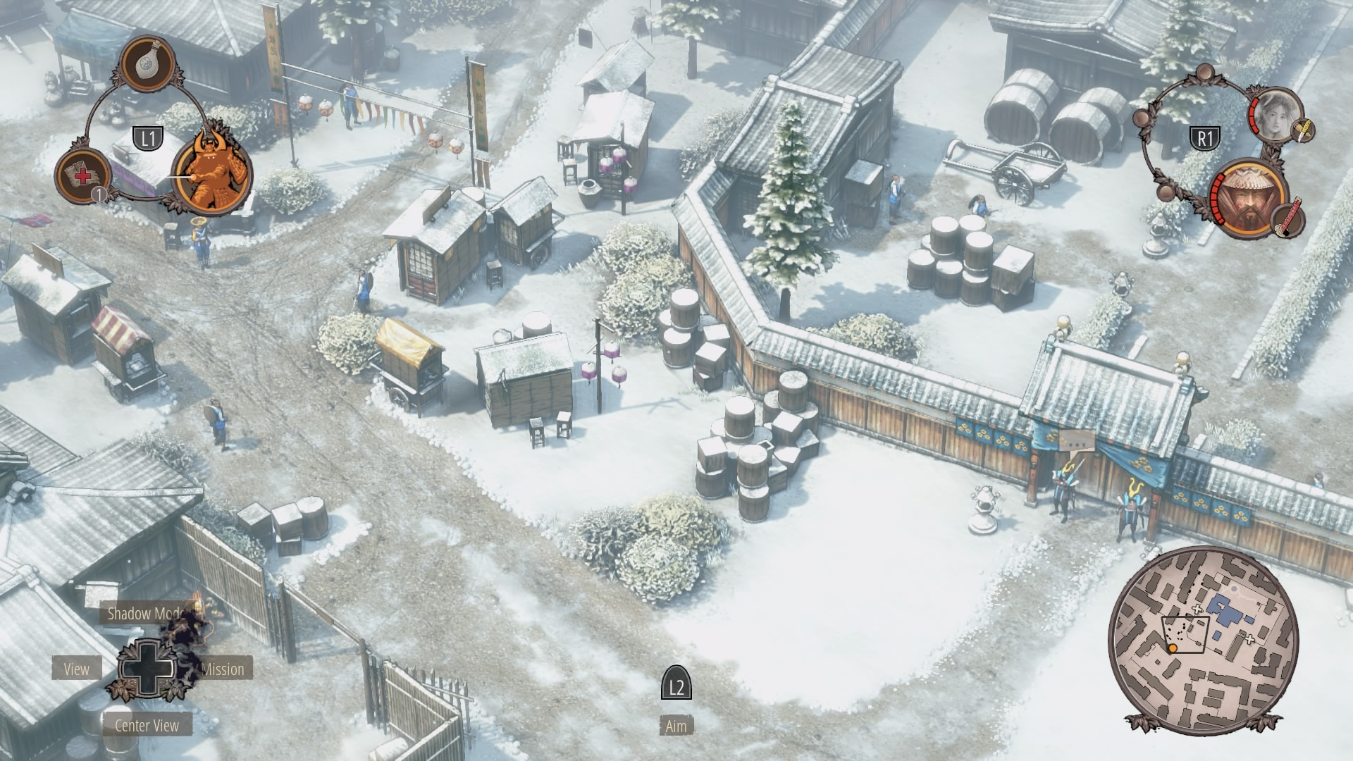 Shadow Tactics Walkthrough | Mission 3: Imai Town