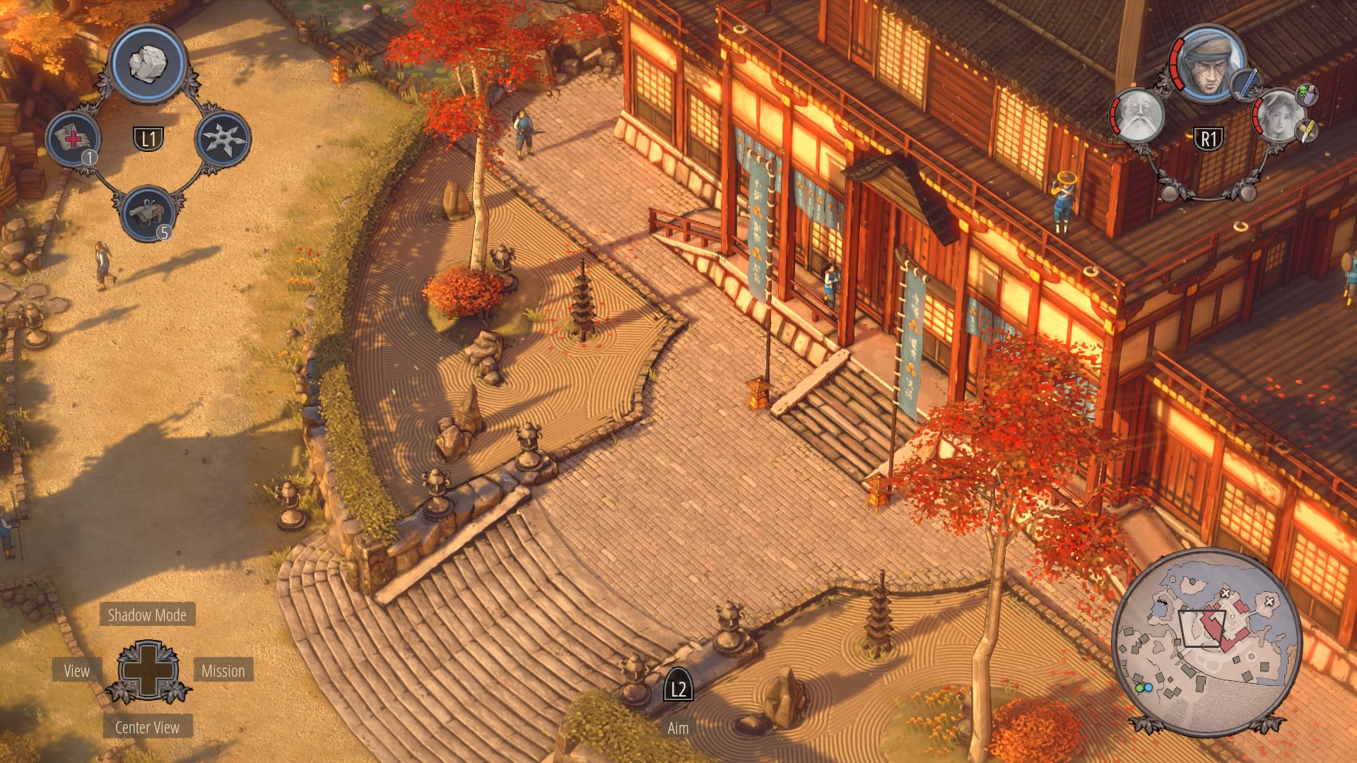Shadow Tactics Walkthrough | Mission 5: Lord Yabu's Estate