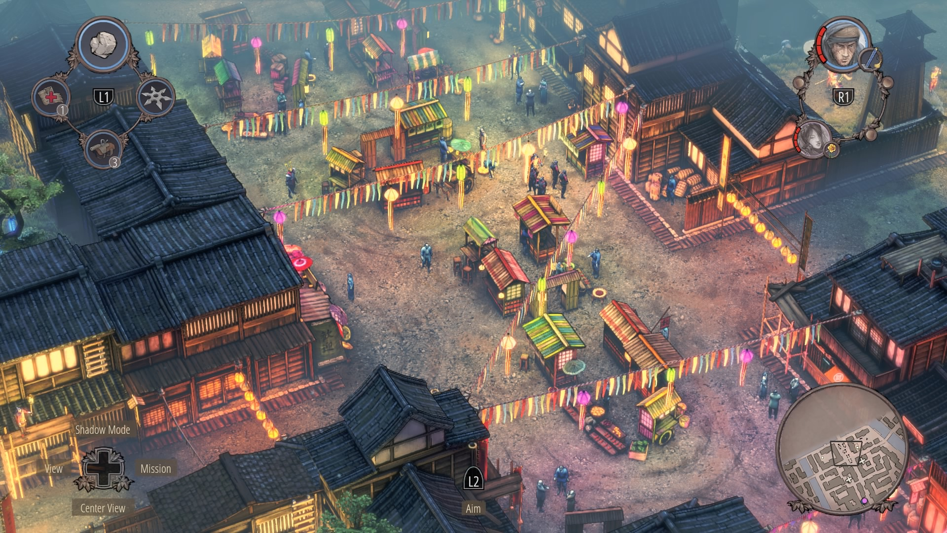 Shadow Tactics Walkthrough | Mission 11: Matsuyama City