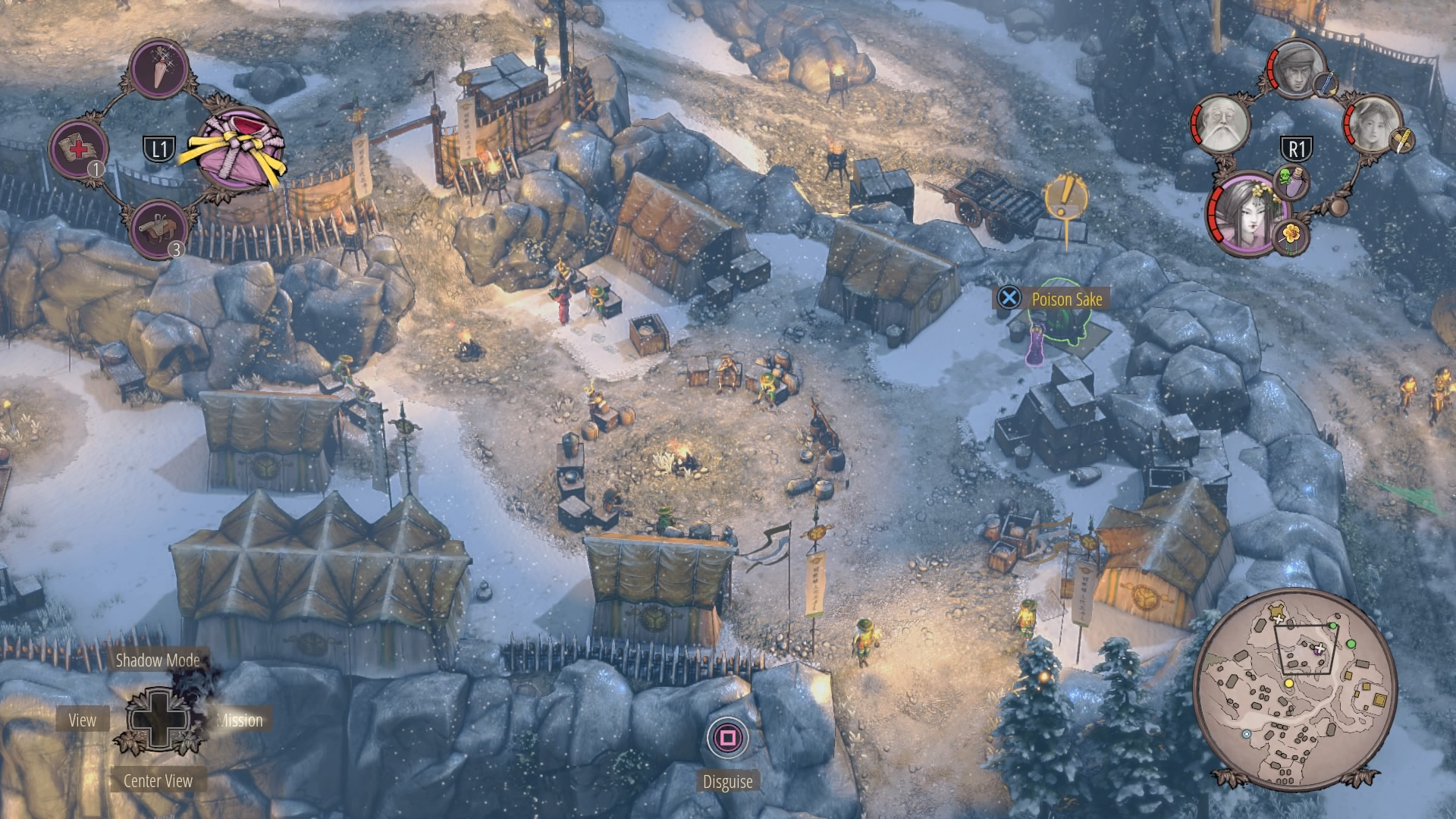 Shadow Tactics Walkthrough | Mission 12: Myogi Pass
