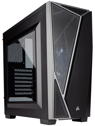 A Sleek Modern Design Makes Corsair S Carbide Spec 04 Stand Out It Has Everything You D Be Expecting For Case And Does So At Very Affordable Price