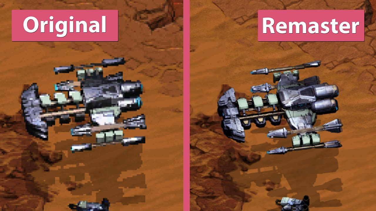 StarCraft: Remastered – How To Swap New & Old-School Graphics