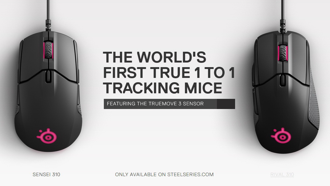Steelseries Sensei 310 Rival 310 Gaming Mouse Review Gameranx