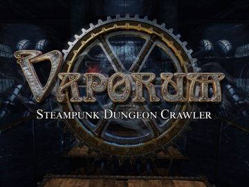 Steampunk RPG 'Vaporum' Makes its Mysterious Debut