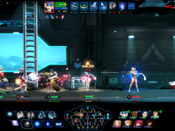Side-Scrolling MOBA Hyper Universe Launches On Steam Early Access Today