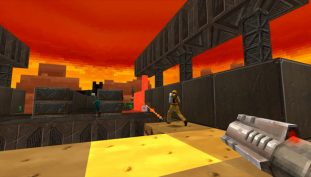 Voxel-Styled FPS Gunscape Gets First Batch of DLC