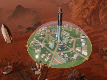 Surviving Mars' Lead Designer Discusses Modding Support, How Mars Mysteries Work and Difference Between PC and Consoles