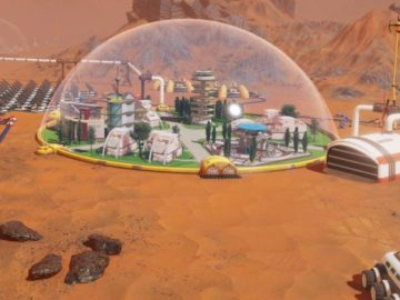 Build and Colonise Mars in 2018 in Surviving Mars
