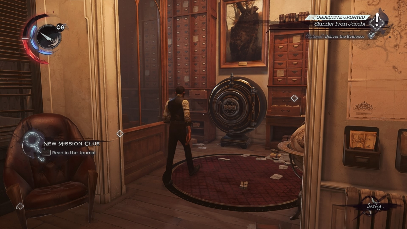 Dishonored Death Of The Outsider All Safe Codes