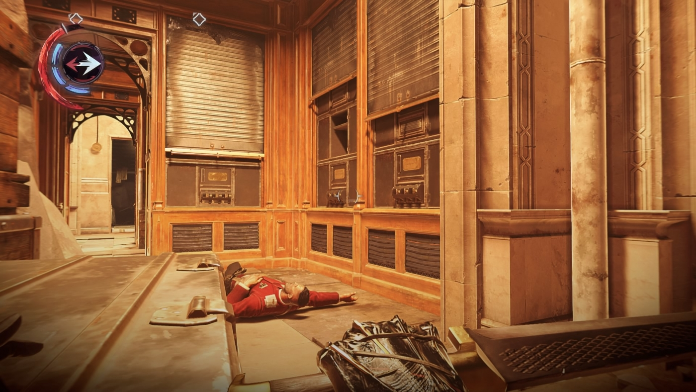 Dishonored  Locked Room On Boat
