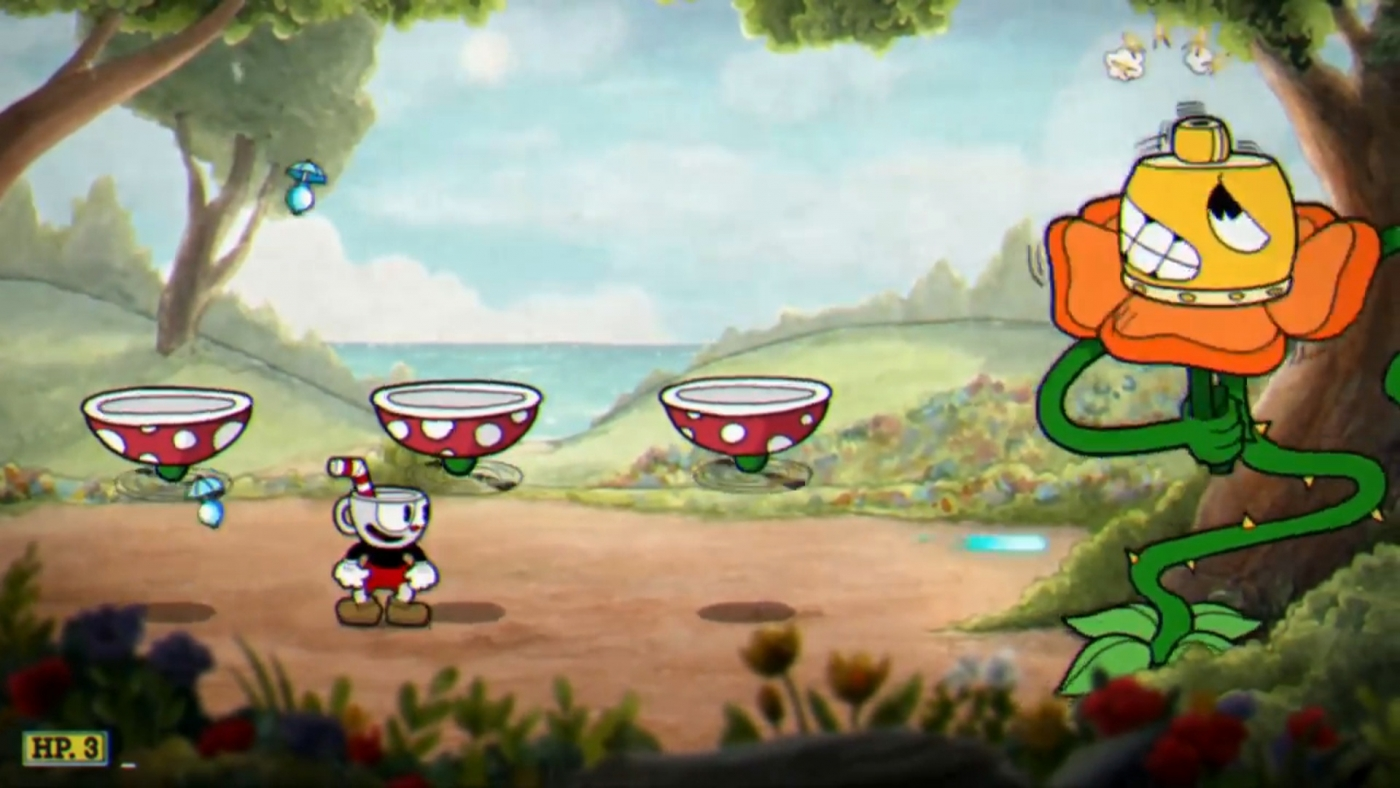 Cuphead how to defeat floral fury boss guide - Pyramid head boss fight ...