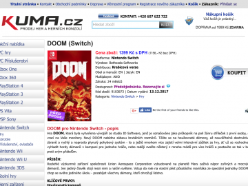 Rumour: DOOM Switch Release Date Leaked