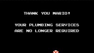 Nintendo Website Says Mario's Plumbing Days Are Over