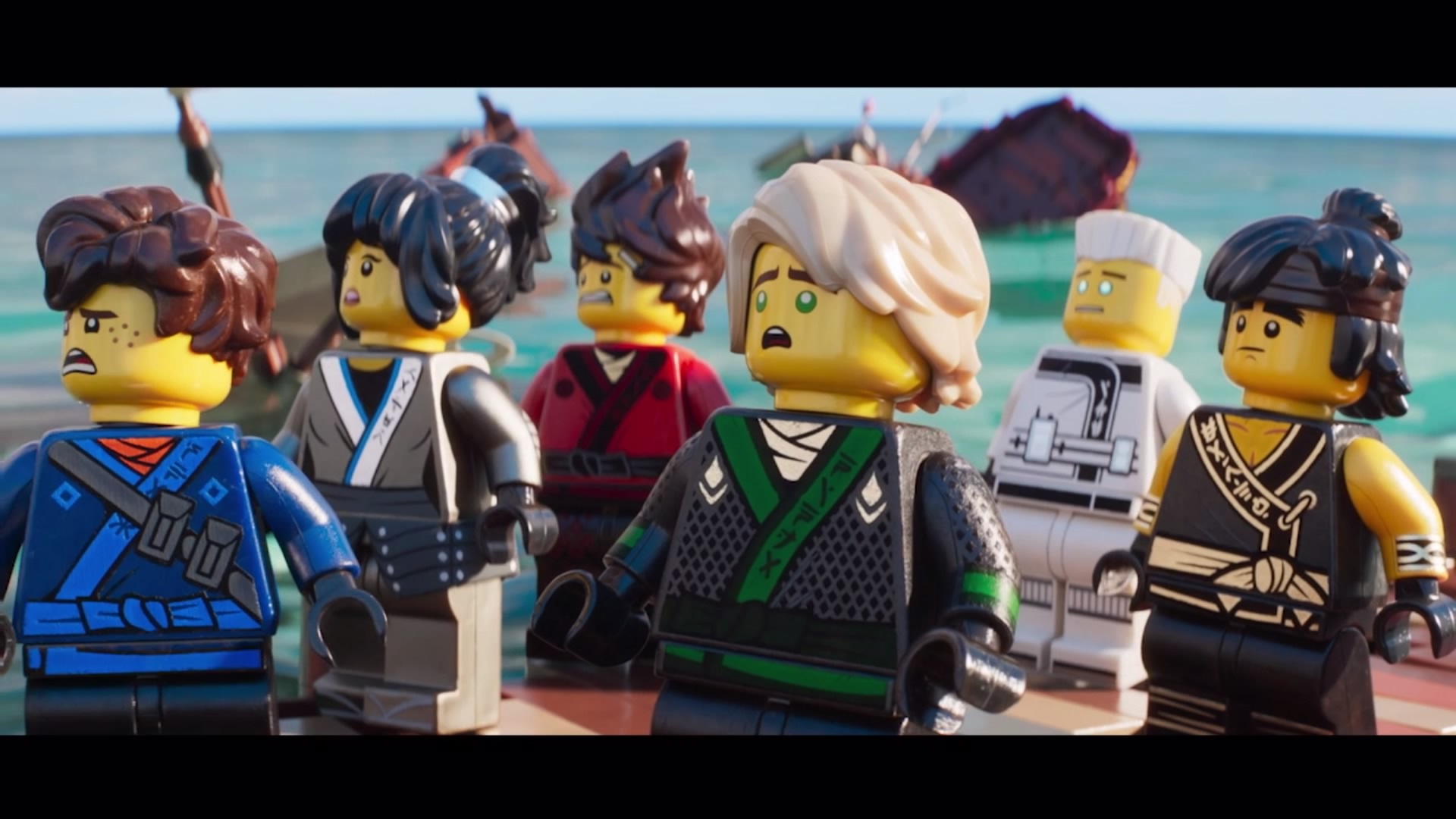 Lego ninjago movie video game walkthrough level 3 ninjago city docks gameranx - Ninja ninjago ...