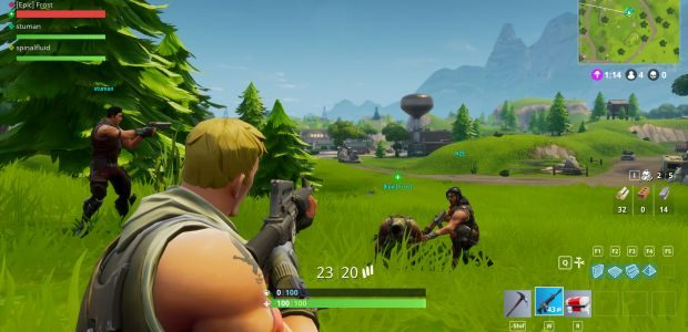 Fortnite Battle Royale Hits 1 Million Players On Launch
