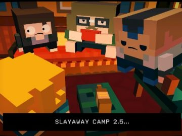 Voxel Slasher Slayaway Camp: Butcher's Cut Comes to Consoles