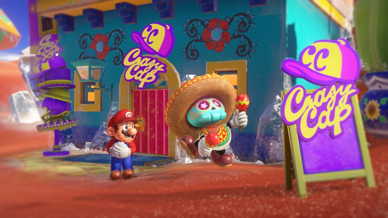 Super Mario Odyssey All Musical Toad Locations Collectibles