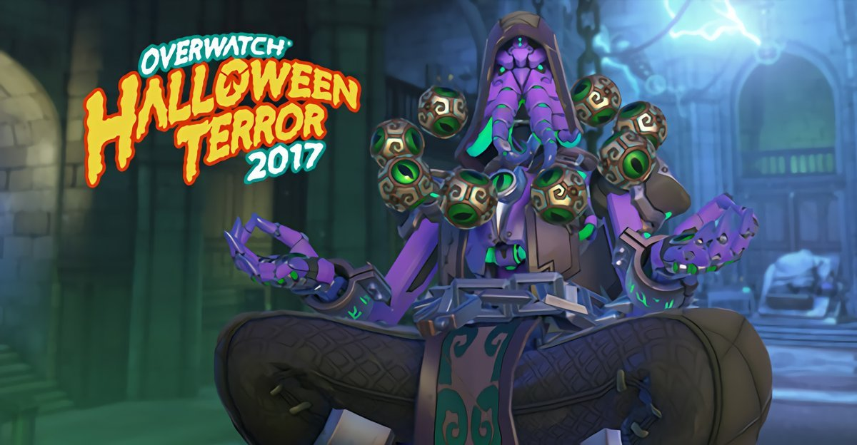 Overwatch Halloween Terror Skins leaked for Reaper, Mei, Zenyatta and Symmetra
