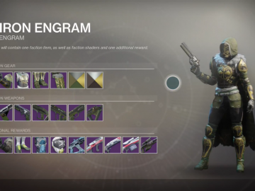 Destiny 2: Iron Banner – All New Weapons, Shaders & Armor | Gallery
