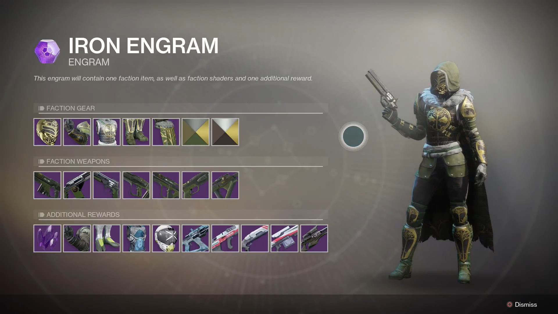The New Iron Banner Event For Destiny 2 Has Landed And In Exchange Participation You Can Earn A Whole Bunch Of Armor Pieces Shaders Weapons