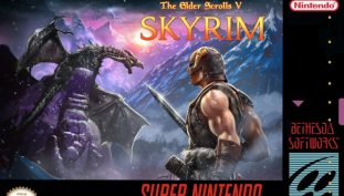 Bethesda Shares Awesome SNES Spoof Cover Of Skyrim