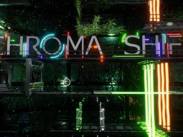 Neon Co-Op Puzzler Chroma Shift Sliding Into PAX Aus