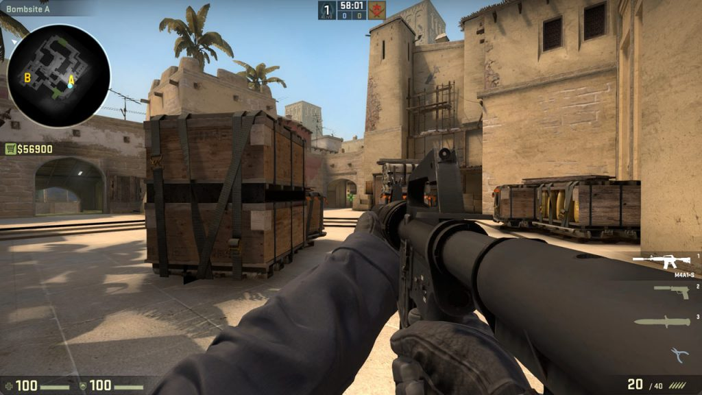 Counter Strike Global Offensives Dust Ii Map Gets A