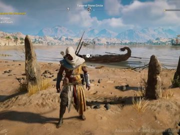 Assassin's Creed Origins: Where To Find All 12 Stone Circles | Collectibles Guide