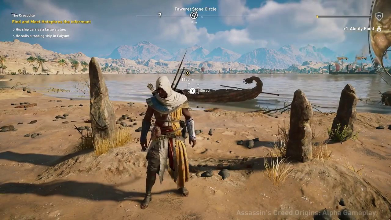 Assassin S Creed Origins Where To Find All 12 Stone Circles
