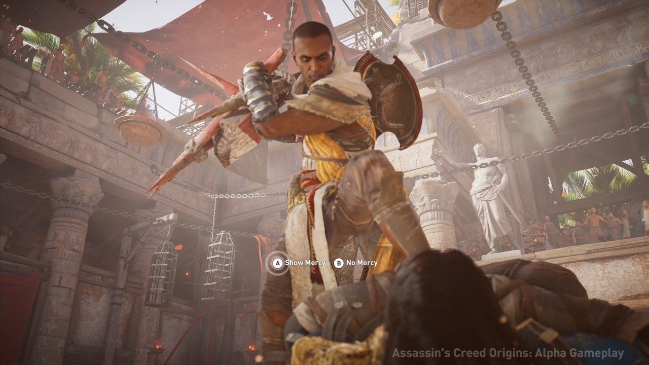 Ubisoft Unveils Assassin S Creed Origins Upcoming Dlc Content