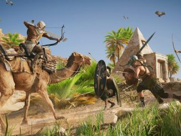 Assassin's Creed Origins Update 1.40 Adds Support for The Curse of the Pharaohs DLC, Adds Reward for Completing All Discovery Tours