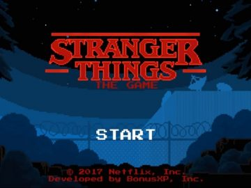 There's a Free Stranger Things Game for Mobile