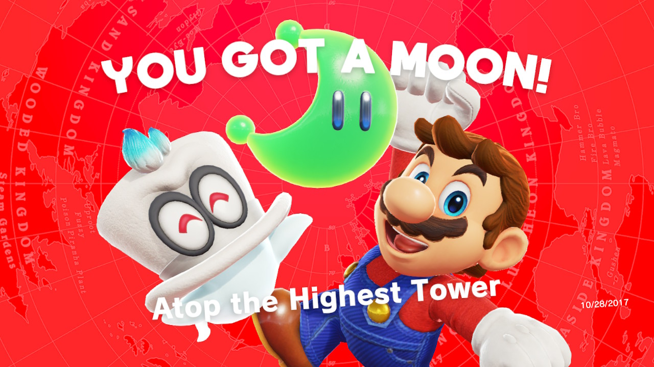 Super Mario Odyssey: Here's How To Break Moon Blocks | Post-Game Guide