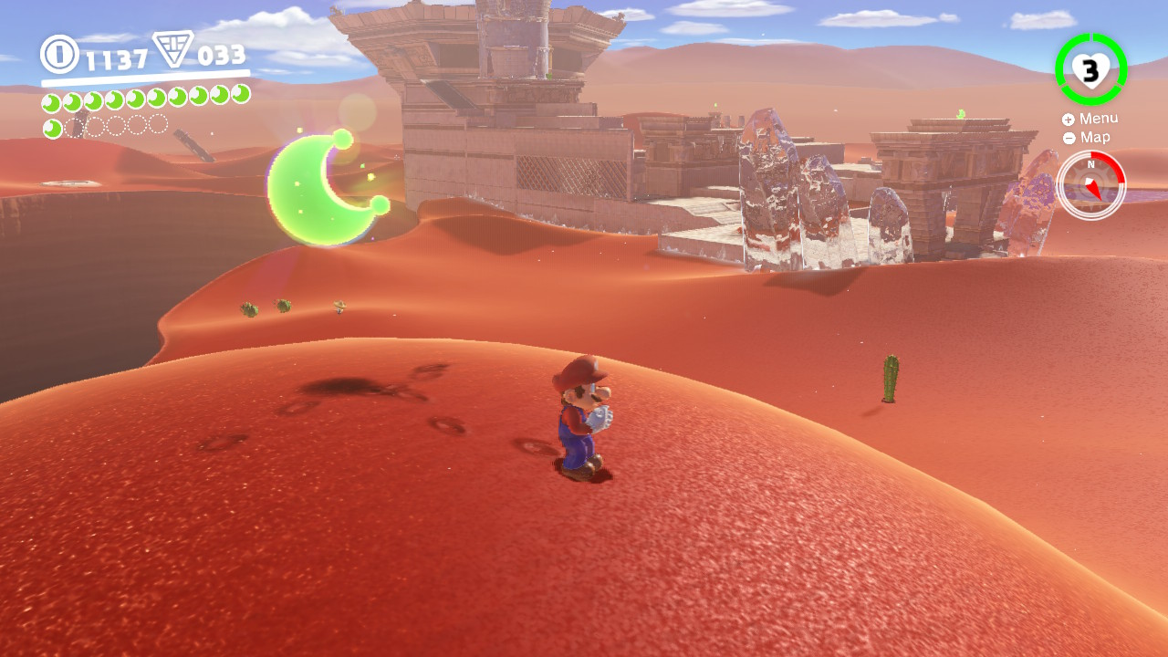 Super Mario Odyssey Sand Kingdom Guide All Moons