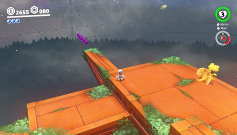 Super Mario Odyssey: All 100 Purple Coins Locations | Wooded Kingdom