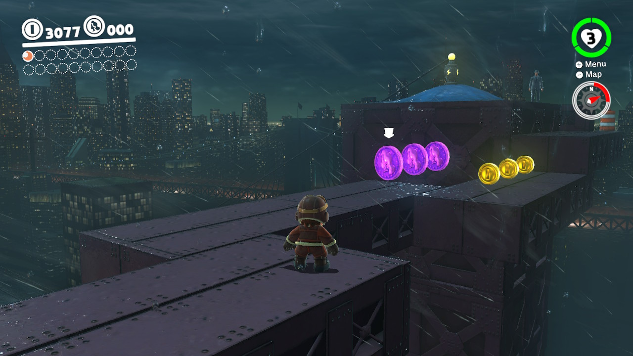 Super Mario Odyssey Purple Coins New Donk City
