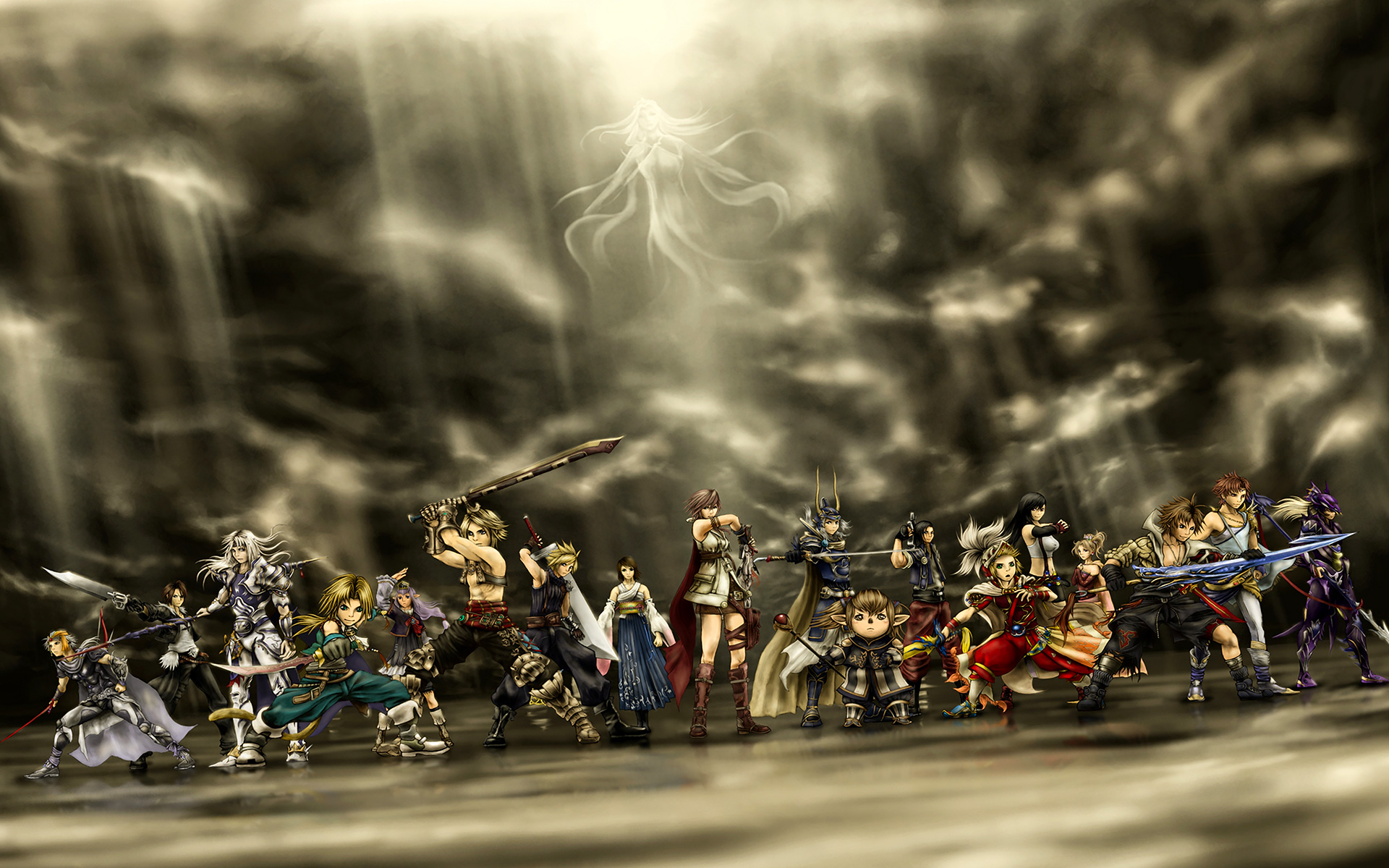 DISSIDIA Final Fantasy NT Wallpapers in Ultra HD