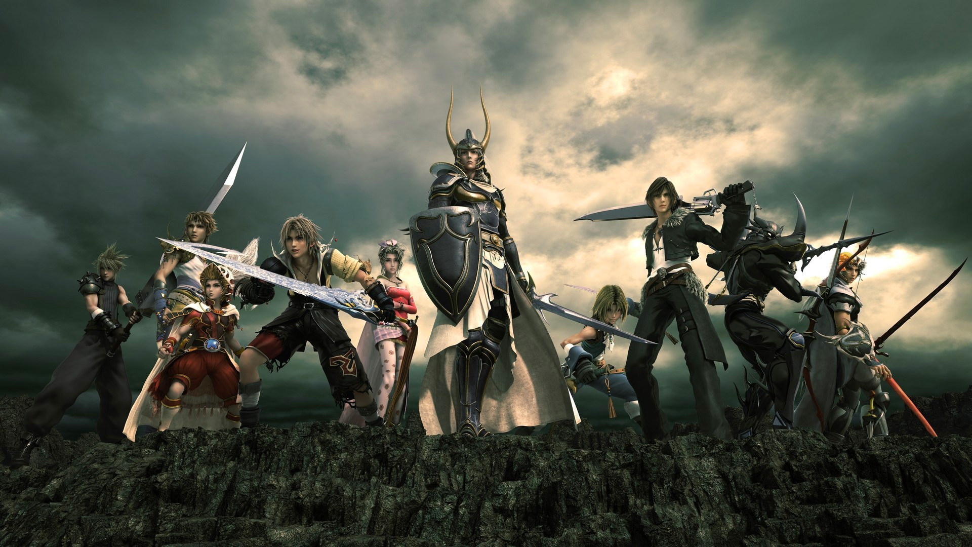 Dissidia Final Fantasy Nt Wallpapers In Ultra Hd 4k Gameranx