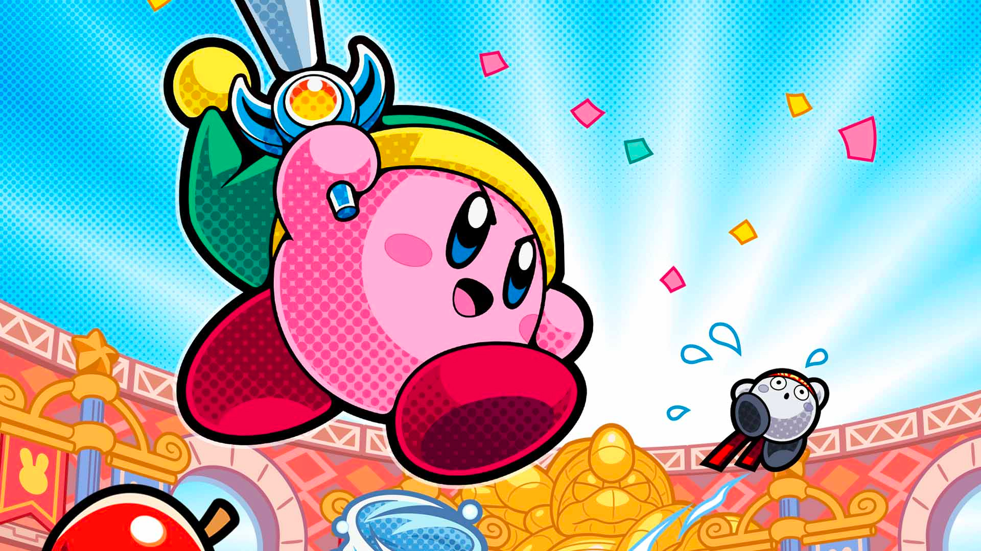 Kirby Battle 1080p Wallpaper