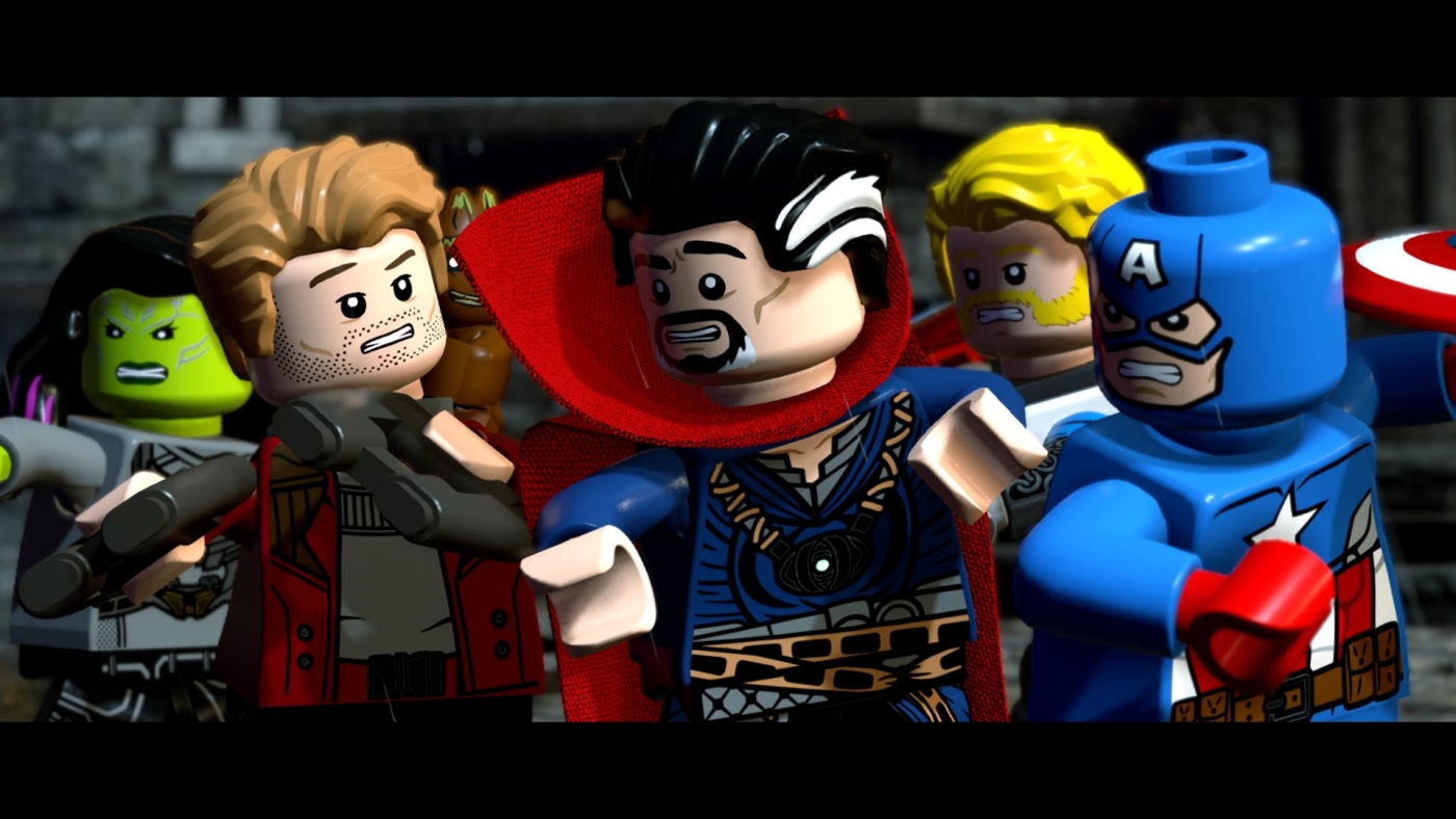 marvel lego level 3 walkthrough