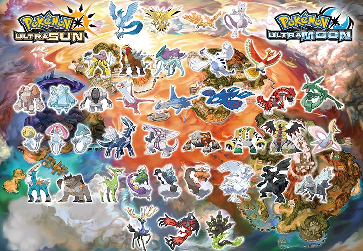 pokemon legendary list