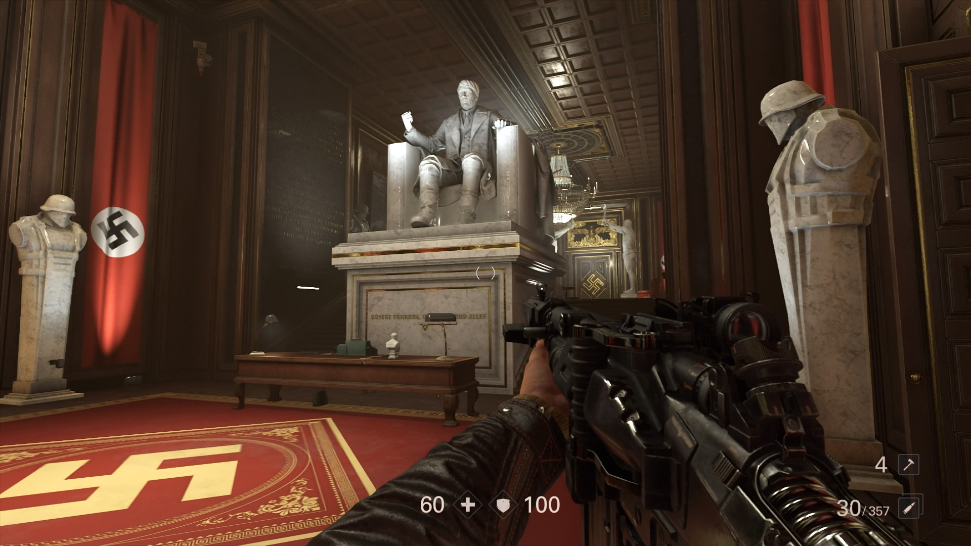 Wolfenstein 2 The New Colossus Yes You Can Kill Hitler
