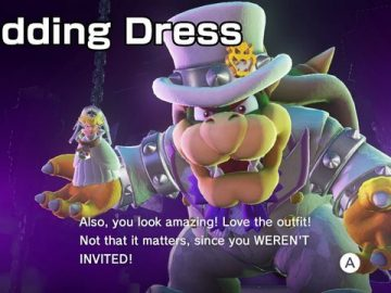 Changing Mario's Costume In Super Mario Odyssey Affects End Game Dialogue