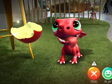 Adorable Pet Sim 'AR Dragon' Given Monster Sized Update