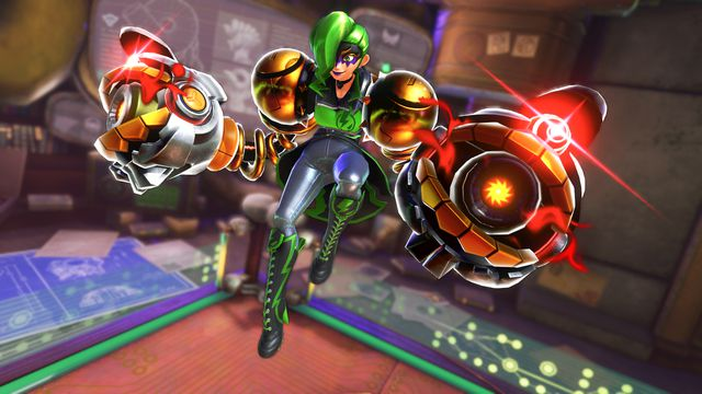 ARMS Version 5.0 is now available, adds new fighter and stage