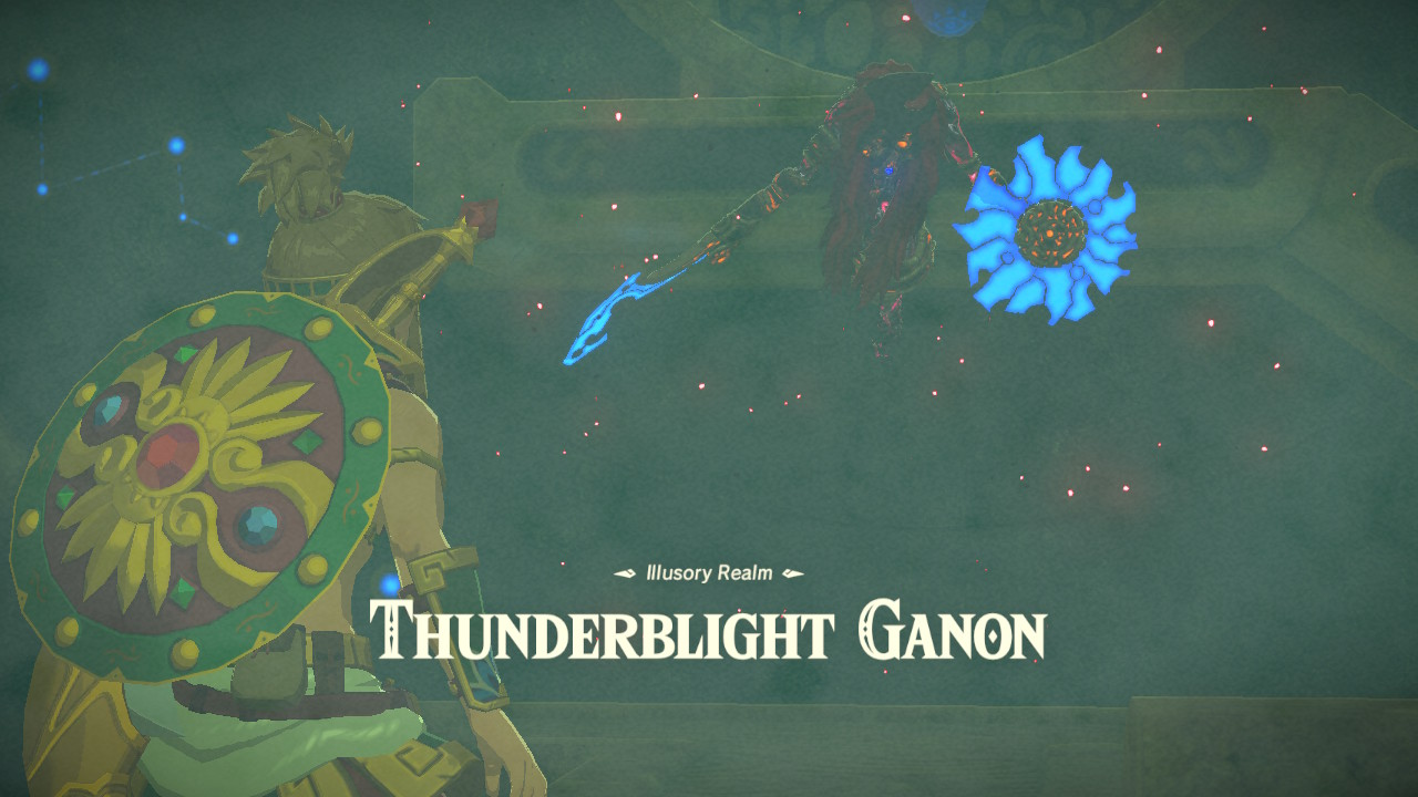 Breath Of The Wild Champions Ballad Ex Thunderblight