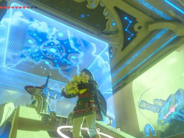 Breath of the Wild: Champions' Ballad – Sheikah Monks Love Bananas Easter Egg