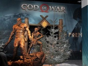 Check out These Epic God of War Photos From PS Experience